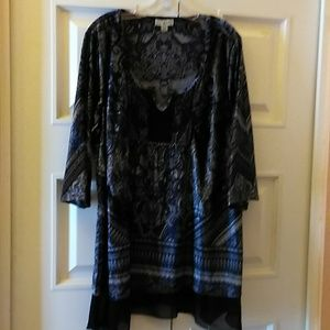 Live and let live women's blouse